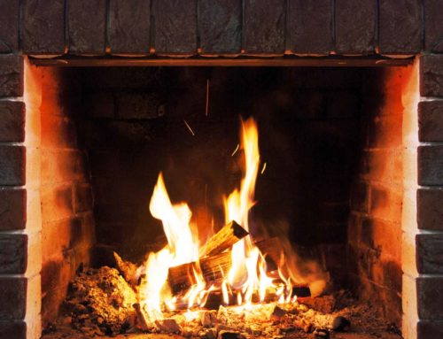 ARE YOU SEEING SIGNS OF WATER BY YOUR FIREPLACE?